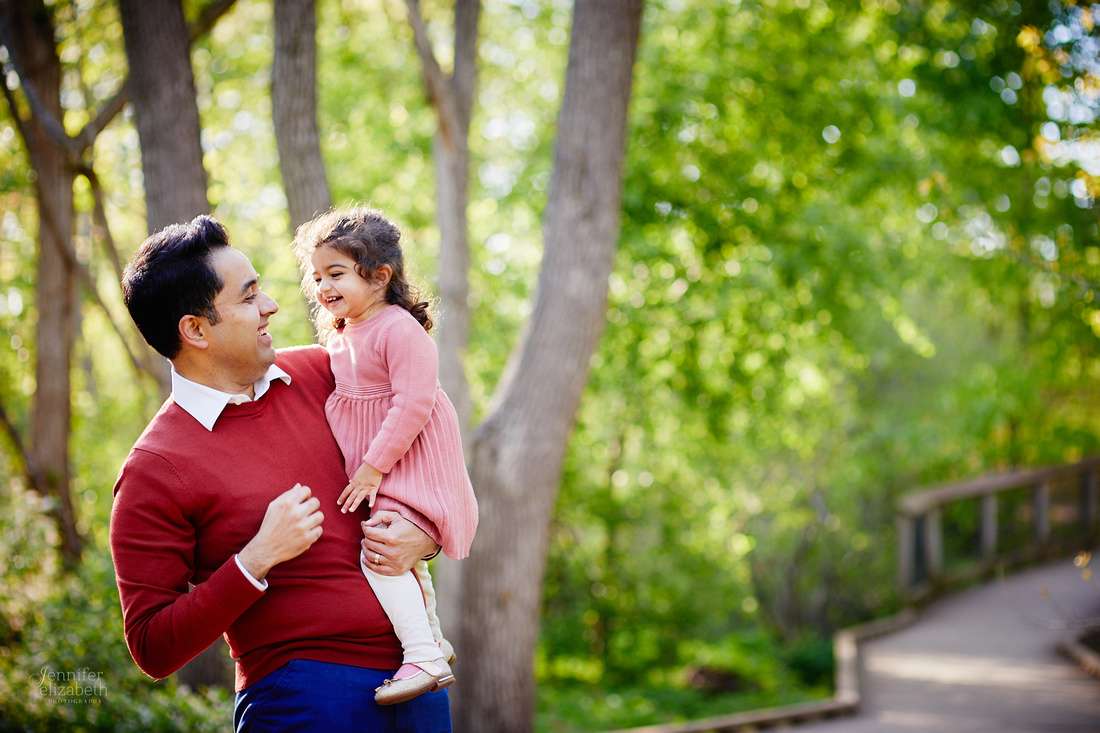 The S Family: Portrait Session at Horseshoe Lake Park in Shaker Heights