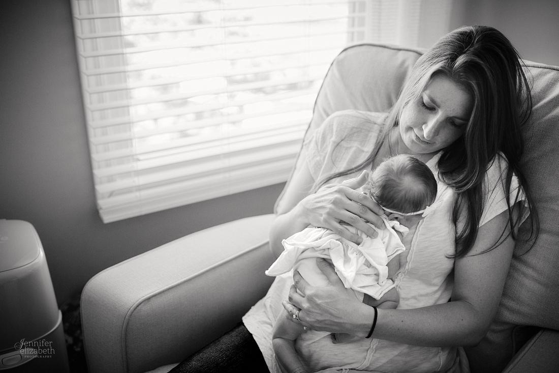 Baby Peyton: Lifestyle Newborn Session in Chagrin Falls, Ohio