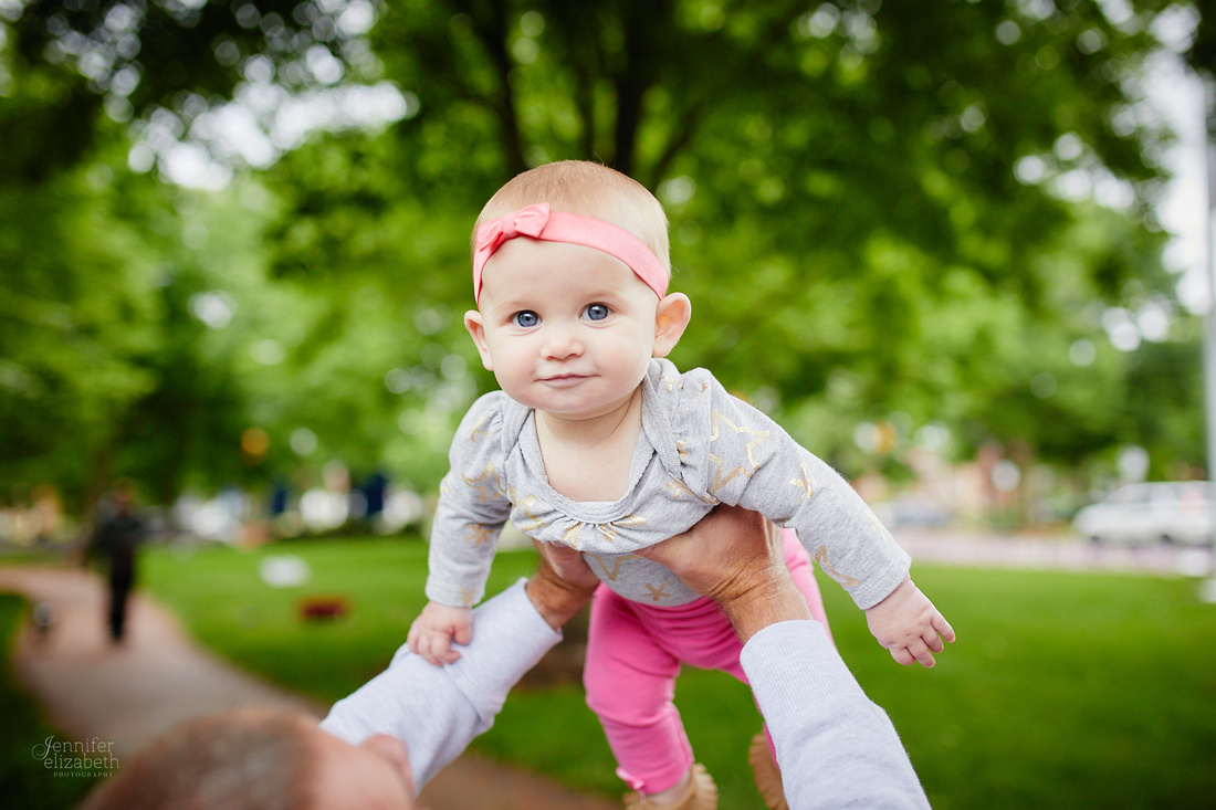 The S Family: Portrait Session in Downtown Worthington