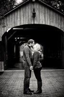 Laura & Matt: Engagement Session at David Fortier Park in Olmsted Falls