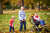 The C Family: Fall Portrait Session in Columbus, Ohio