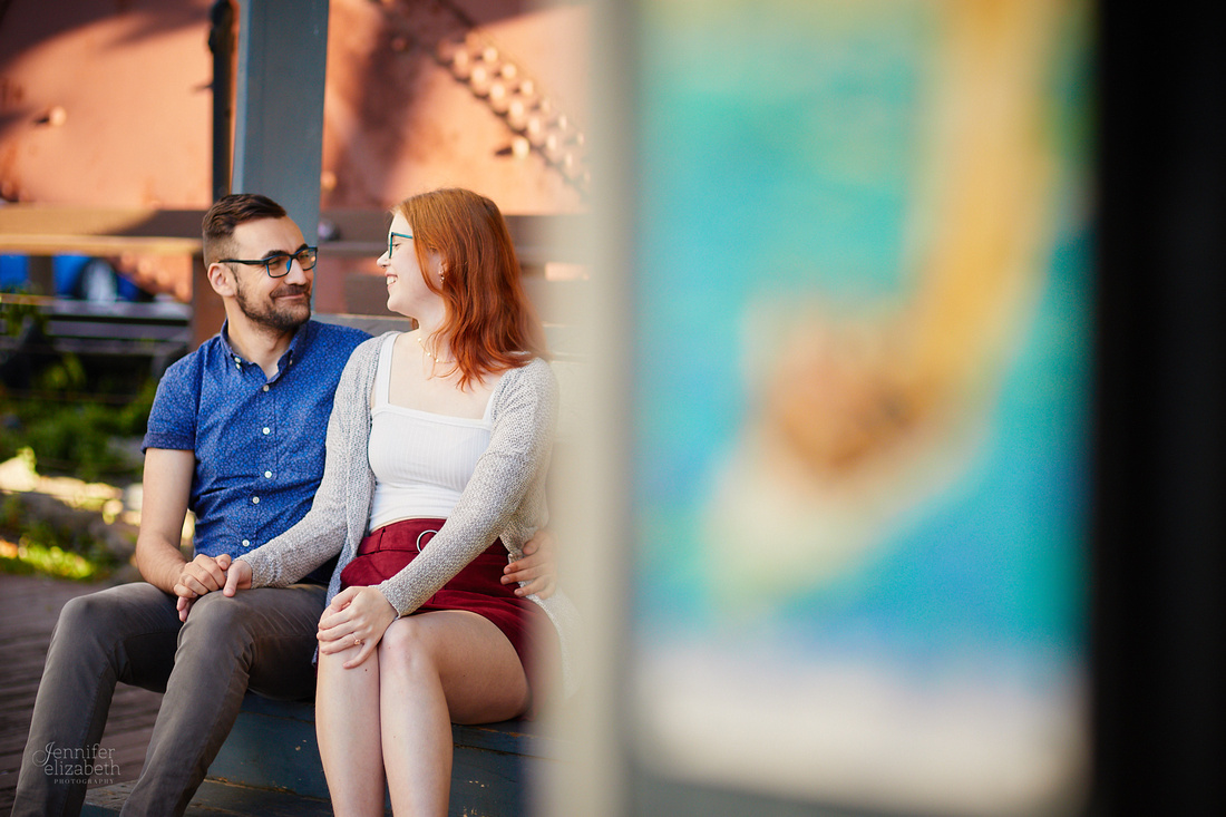 Katie & Sam: Engagement Session in The Flats