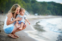 The V Family: Portrait Session at Edgewater Park