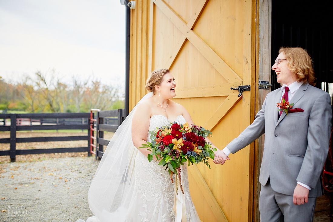 Emily & Colin: Wedding at Canopy Creek Farm in Miamisburg, Ohio