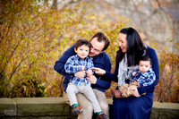 The H Family: Portrait Session in Chagrin Falls, Ohio