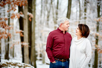 The T Family: Holiday Portrait Session in Walton Hills, Ohio