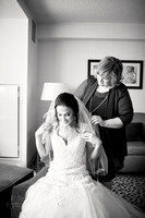 Chrissy and Mike's Spring Wedding at the Cleveland Airport Marriott Hotel