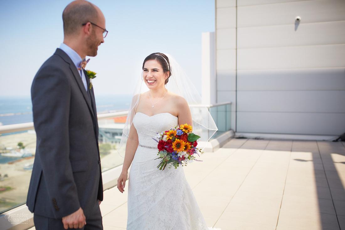 Katie & Michael: Wedding at Aloft Cleveland Downtown