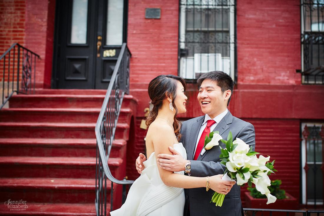 Adrienne & Kevin: Brooklyn, New York Wedding