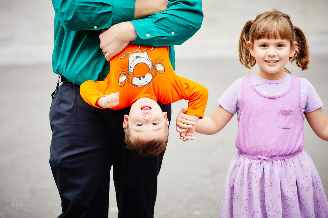 The C Family: Portrait Session at the Cleveland Museum of Art