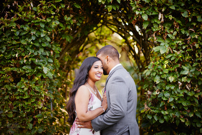 Stephanie & Vick: Engagement at Schoepfle Gardens