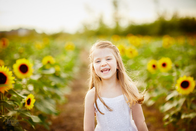 Sunflower Portrait Sessions at Maria's Field of Hope in Avon