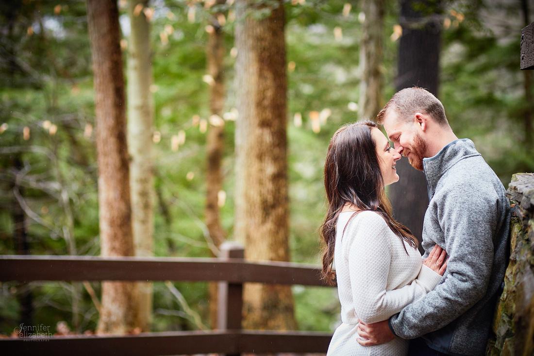Janelle & Josh: Engagement Session in Brecksville Reservation