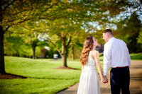 Gina & Allen: Wedding Portrait Session at Weymouth Country Club