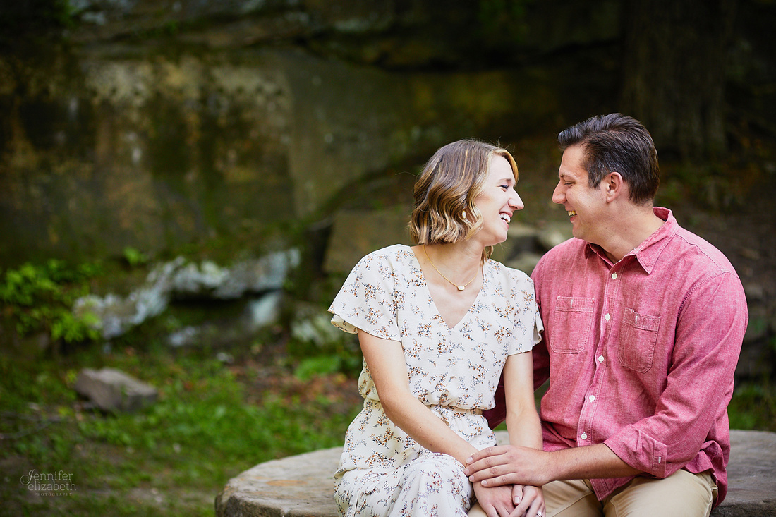Laura & Ryan: Engagement at David Fortier Park