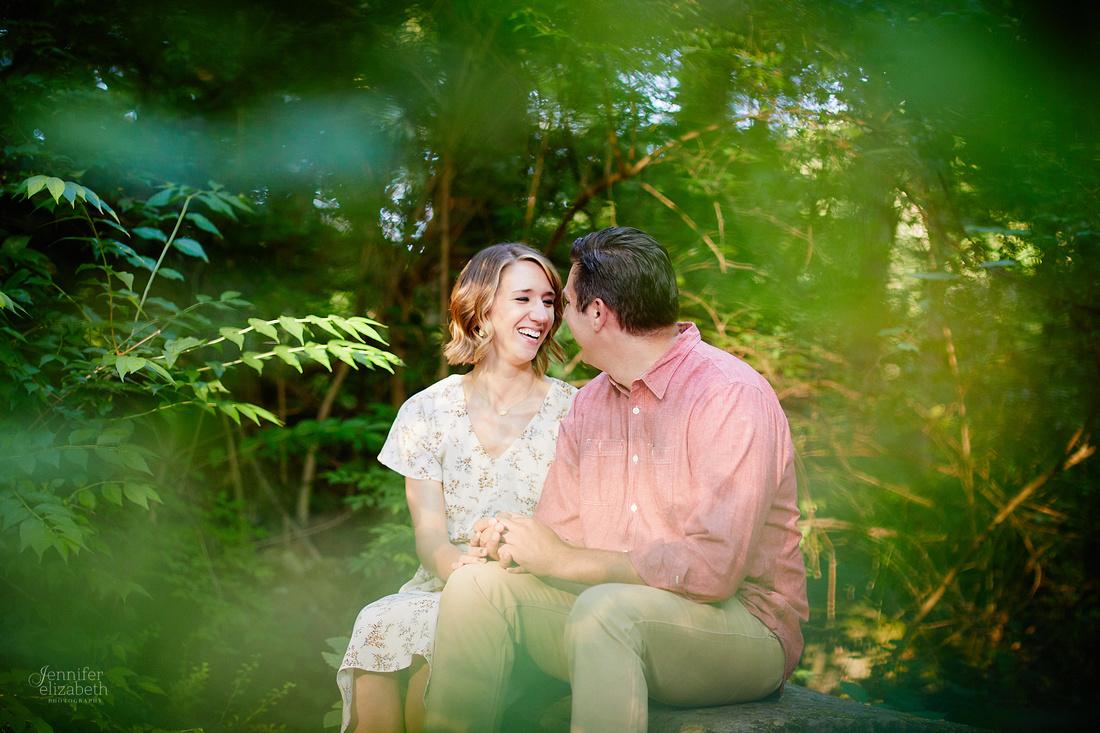 Laura & Ryan: Engagement at David Fortier Park