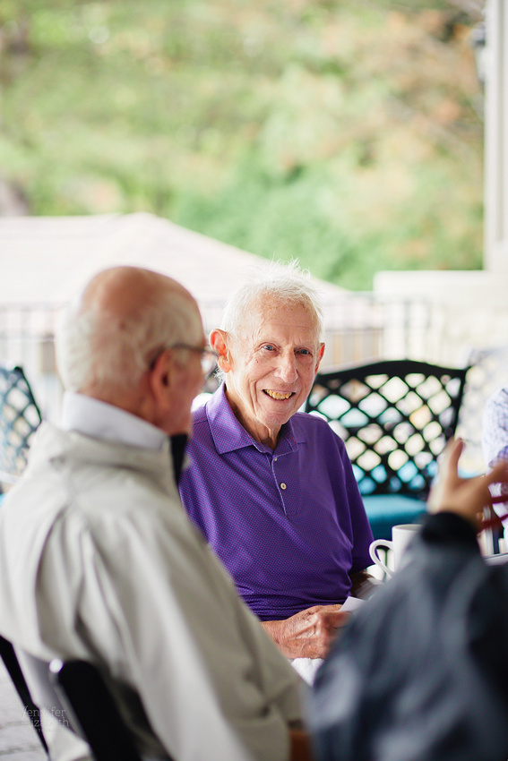 Ed: 90th Birthday Party at Mayfield Sand Ridge Country Club and Marotta's