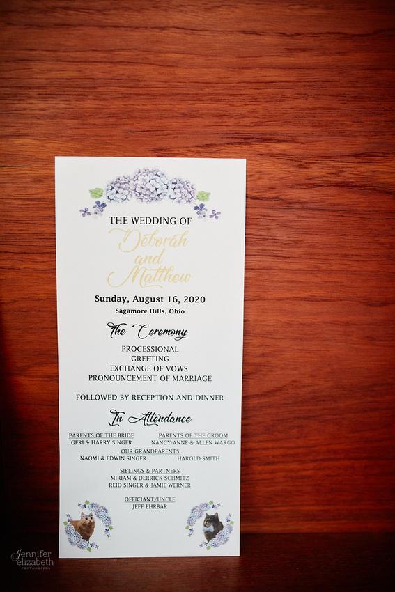 Deb & Matt: Backyard Micro Wedding in Sagamore Hills, Ohio