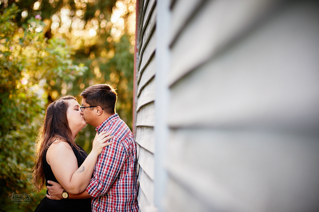 Meg & Tyler: Engagement Session at Boardman Park in Youngstown