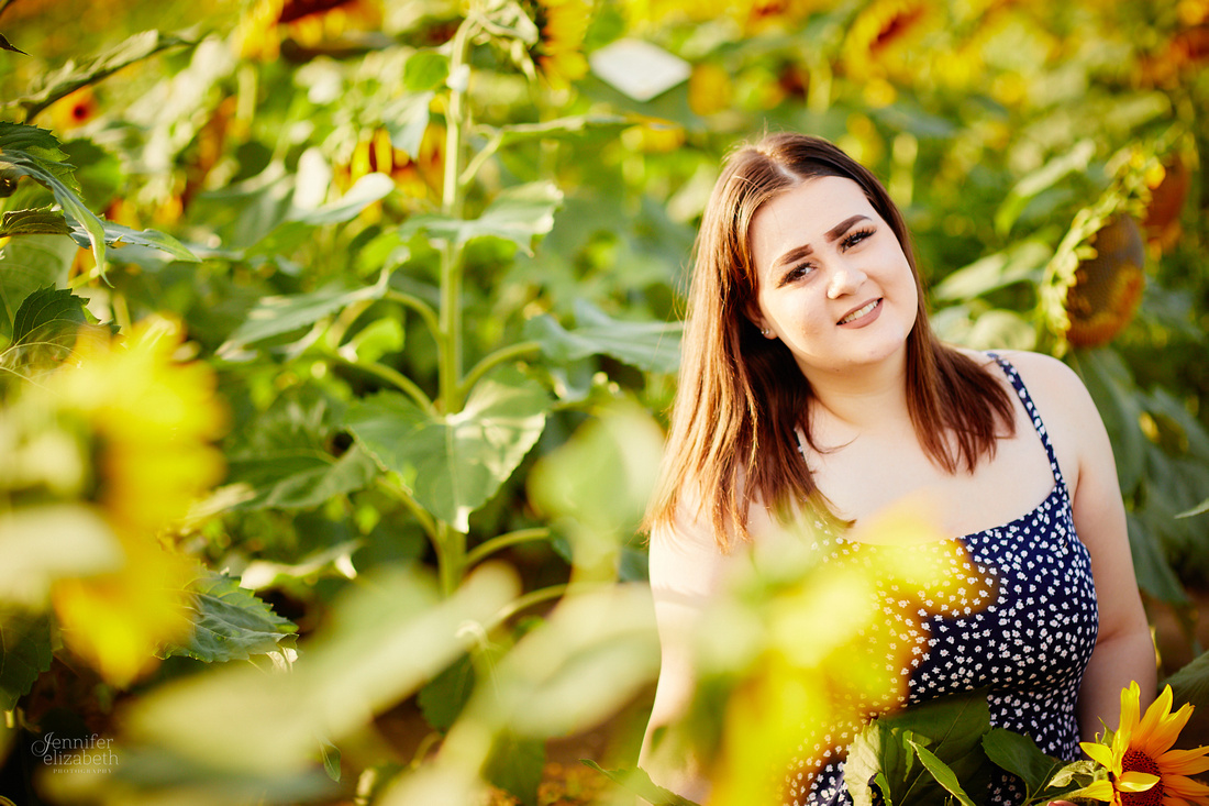 Sunflower Field Mini Sessions at Maria's Field of Hope