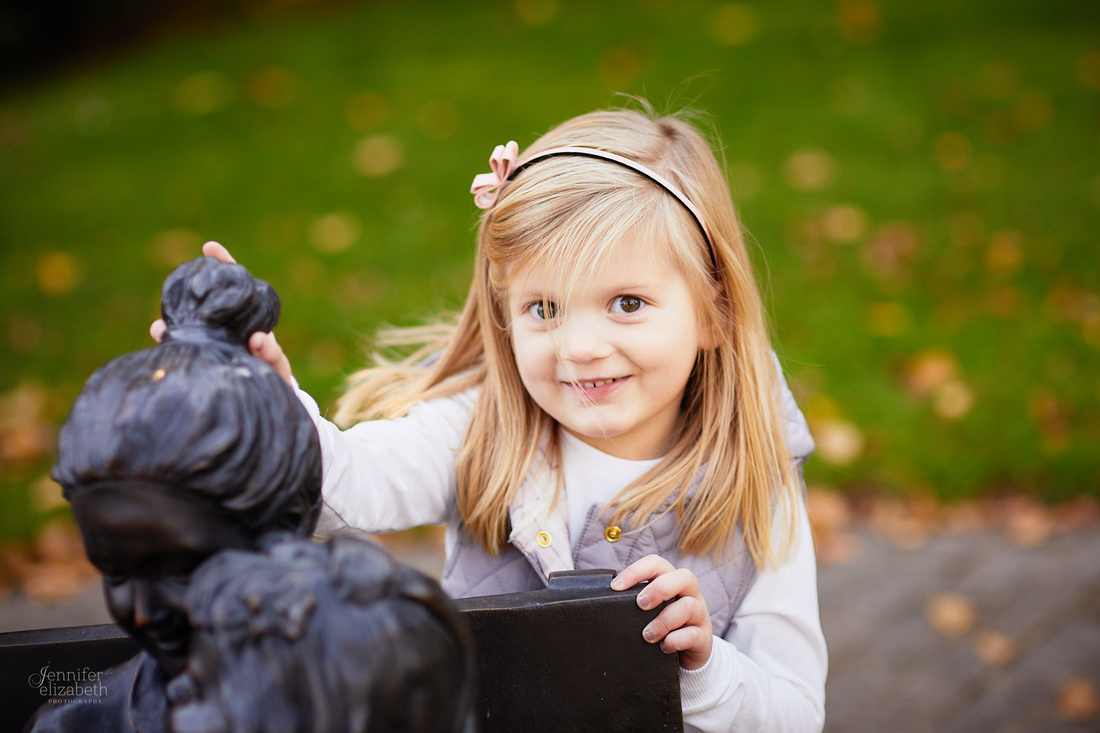 The V Family: Portrait Session at Schoepfle Garden in Birmingham