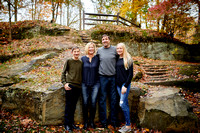 The H Family: Portrait Session at David Fortier River Park