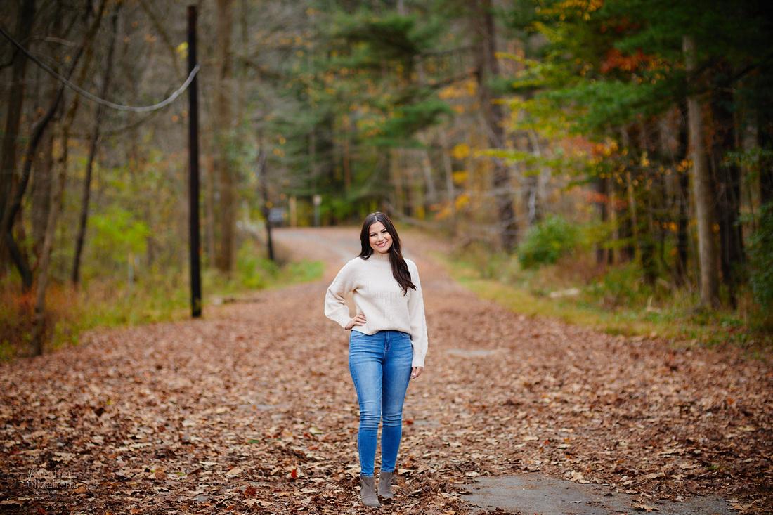 Sophia: Senior Portrait Session at Everett Road Covered Bridge