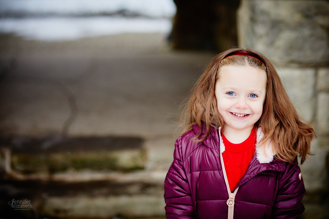 The B Family: Portrait Session at Squire's Castle in Willoughby Hills