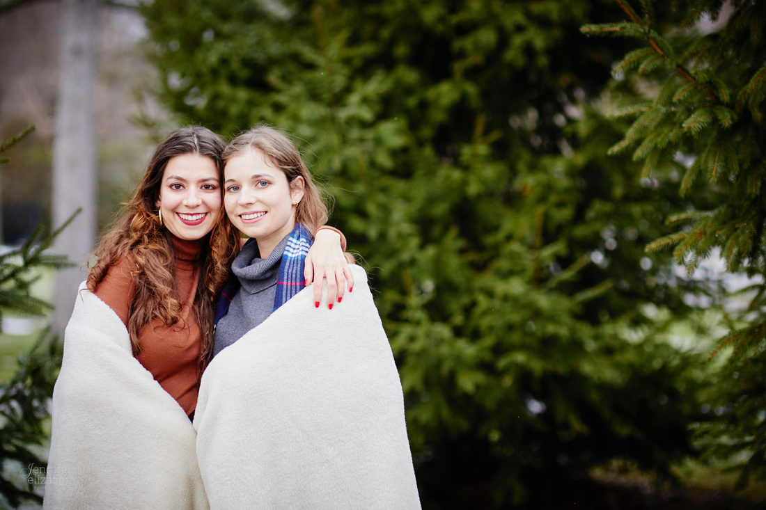 The F Family: Portrait Session in Chagrin Falls
