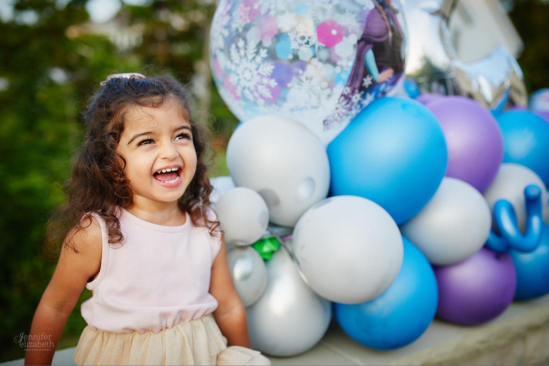 Sarina: Second Birthday Family Portrait Session in Beachwood, Ohio