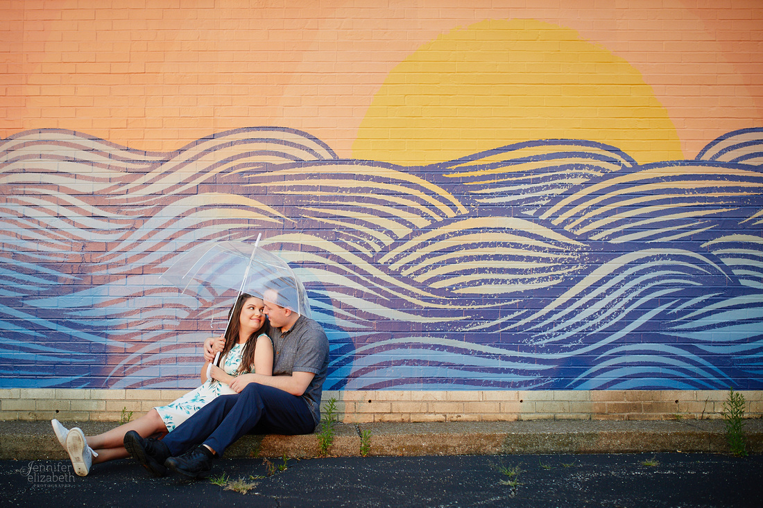 Katherine & Nathan: Engagement Session at Lakewood Park in Cleveland