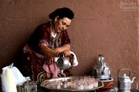 Moroccan Mint Tea in the Ourika Valley, Morocco
