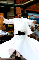 Whirling Dervish in Istanbul, Turkey