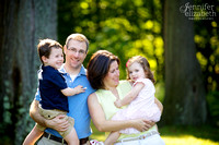 The M Family: Portrait Session in Shaker Heights
