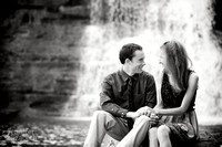 Bethany & Brett: Engagement Session in Chagrin Falls, Ohio