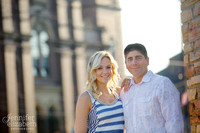 Kim & Anthony Portrait Session in Little Italy, Cleveland