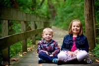 The D Family: Family Portrait Session in Jeffrey Park in Bexley, Ohio