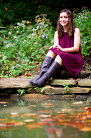 Marissa: Senior Portrait Session at Inniswood Metro Gardens in Westerville, Ohio