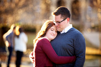 Heather & Jackson Engagement at Ohio State University