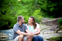 Amanda and Mike: Engagement Portrait Session in Olmsted Falls, Ohio