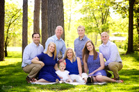 The D Family: Portrait Session at Horseshoe Lake in Cleveland