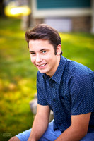 Ben's Senior Portrait Session in Chagrin Falls, Ohio