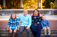 The D Family: Portrait Session in Schiller Park, Columbus
