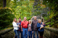 The V Family: Portrait Session at David Fortier Park in Olmsted Falls, Ohio