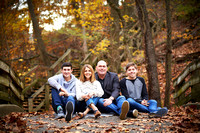 The G Family: Portrait Session at Glen Echo Park in Columbus