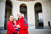 The C Family: Portrait Session at The Ohio State University Campus