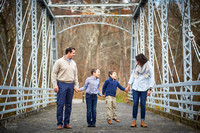 The R Family's Portrait Session in the Brecksville Reservation