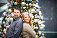 The R Family: Winter Portrait Session at the Cleveland Museum of Art