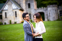 Rebekah & Abel: Engagement Session at Squire's Castle and Sims Park Beach