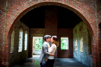 Rebekah & Abel: Engagement Session at Squire's Castle and Sims Park